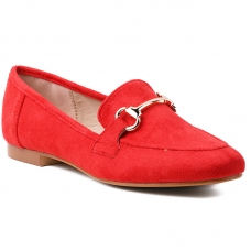 MOCCASINS T391 RED