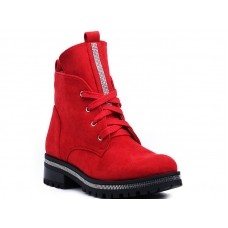 ANKLE BOOTS NC1035 RED