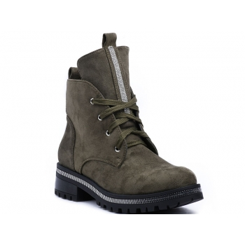 ANKLE BOOTS NC1035 GREEN