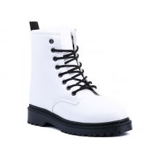 ANKLE BOOTS D-19 WHITE