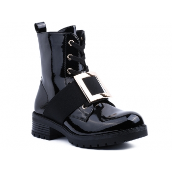ANKLE BOOTS HO208 BLACK