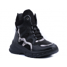ANKLE BOOTS Y9408 BLACK