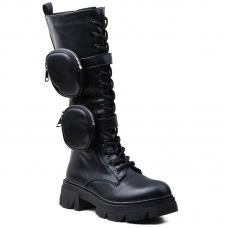 BOOTS H0228 BLACK