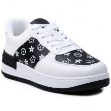 SNEAKERS AB901 WHITE/BLACK