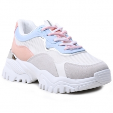 SNEAKERS AB855 WHITE/BLUE
