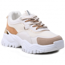 SNEAKERS AB855 WHITE/BEIGE