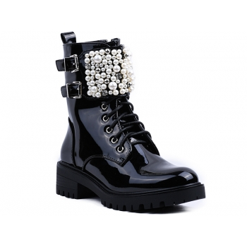 ANKLE BOOTS NC1059 BLACK